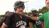 Ohio Football Player's Heroism Saves Neighbor's Life