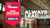 Mac Williams Middle School First Middle School to Earn Level 2 Status in NFHS School Honor Roll