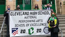 Portland, Oregon, School Recipient of Performing Arts Excellence Award